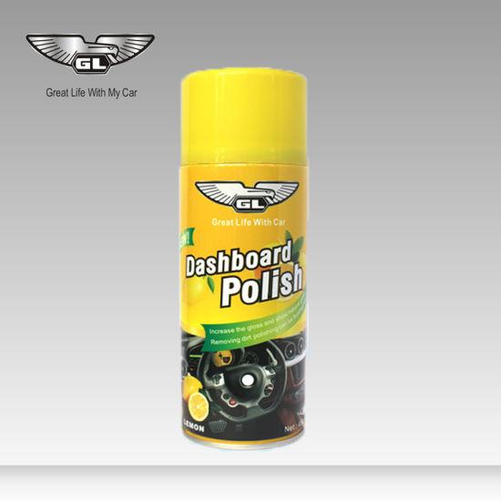 China Dashboard Shine Car Dashboard Spray Wax Polish - China
