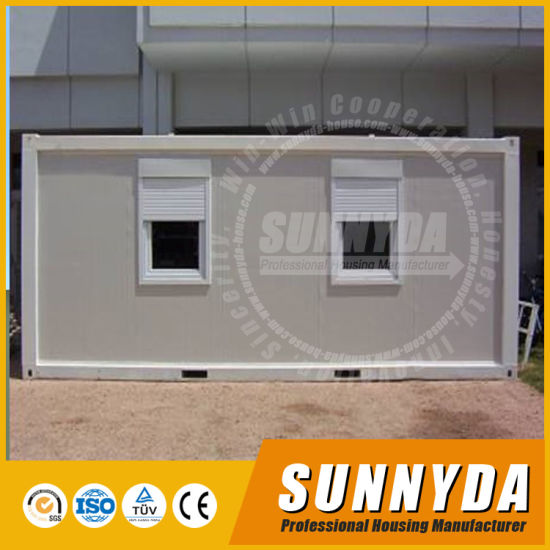 China European Style Modular Portable Shipping Container Site Office