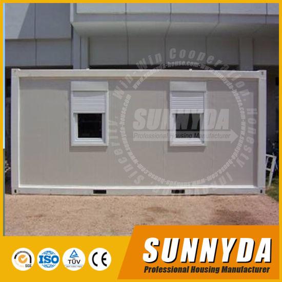 European Style Modular Portable Shipping Container Site Office