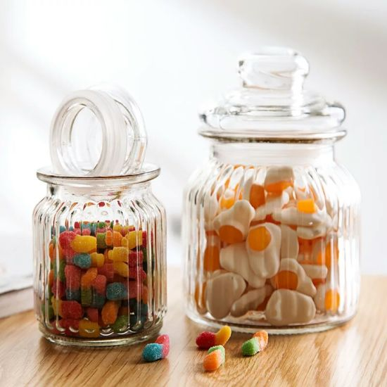 Food Grade Glass Jar Glass Storage Bottle for Preserving pictures & photos