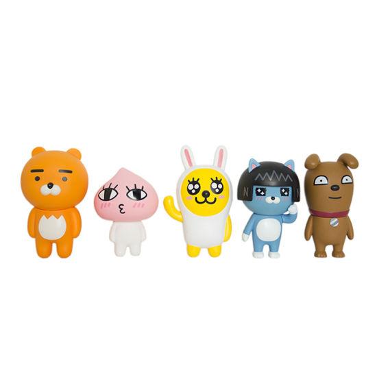 Plastic Cartoon Toy Figure Set