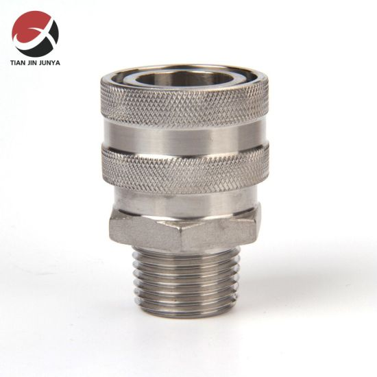 """OEM Supplier Customized Sanitary Stainless Steel 304 Quick Disconnect 1/2"""" Mptx Female Socket Homebrew Hardware Used in Toilet/Bathroom/Plumbing System"""