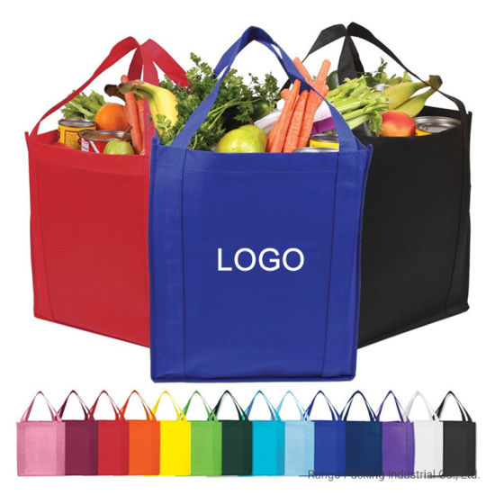Wholesale Promotional Non Woven Tote Shopping Bag with Logo