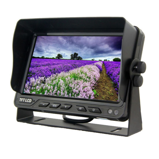 Rearview Mirror Car Monitor With 7 TFT LCD TV Inch