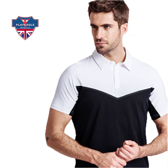 Customized Wholesale Golf Mens Polo Shirt New Summer Man Blank Clothes for Golf