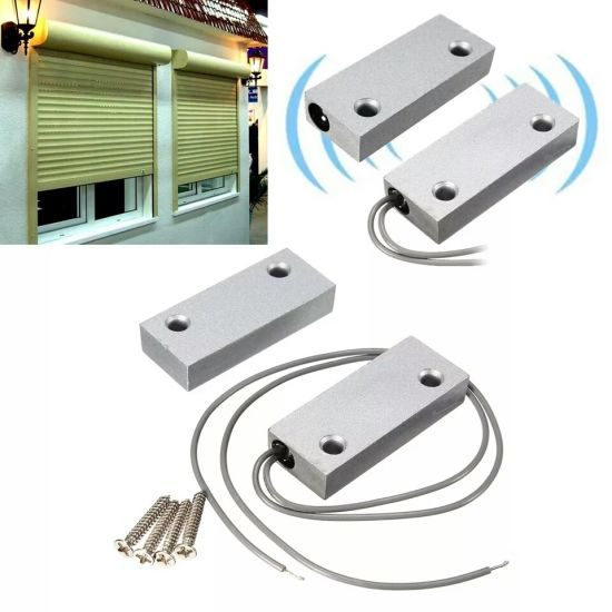 Wired Metal Door/Window Magnetic Contact Switches for Home Safety pictures & photos