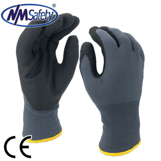 24 Pairs Winter Work Gloves Latex Coated Safety Grip Insulated