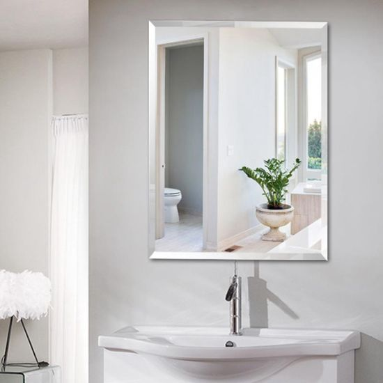 Quality Frameless Bathroom Mirror, Vanity Mirror Frameless