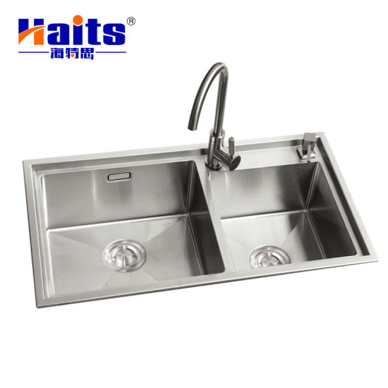 Commercial Kitchen Sink Stainless Steel Sink Bowl Kitchen Sink Double Bowl