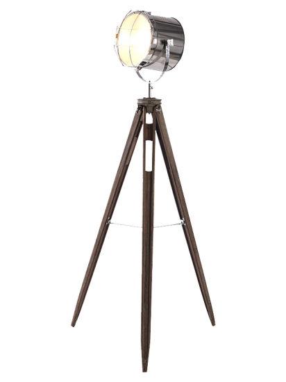 Thirpod Wood Metal Spot Floor Lamp Lighting/Light/LED/Lamp/Furniture/Decoration
