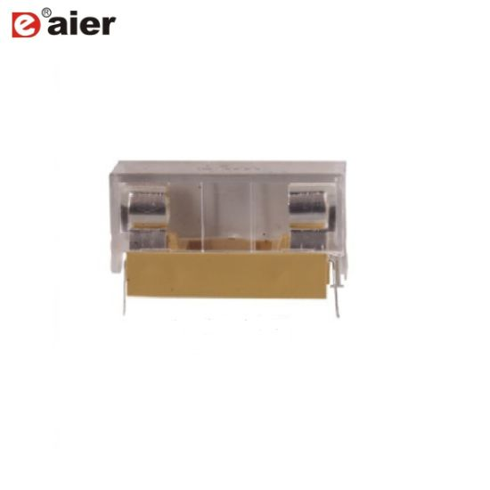 China 6X30 Plastic PCB Fuse Holder Fuse Box with Transparent Cover on
