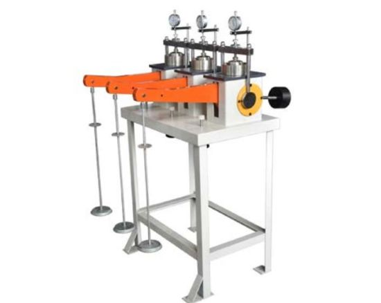 Soil Triplex Consolidation Test Apparatus Consolidometer