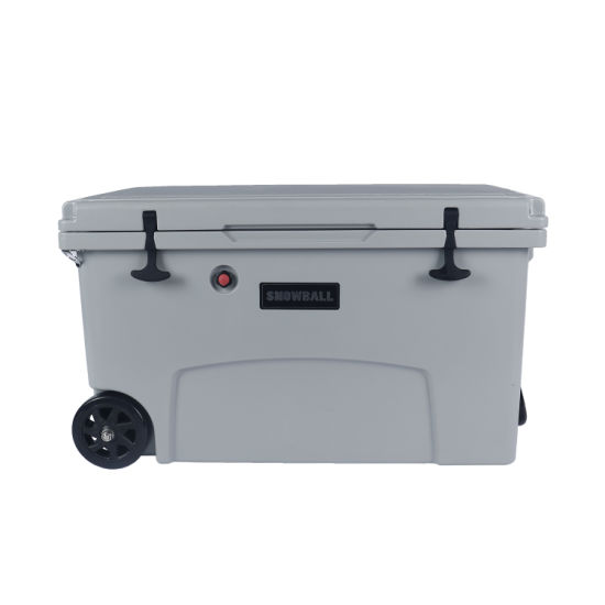 125L Rotomolded Ice Cooler Box with Wheels