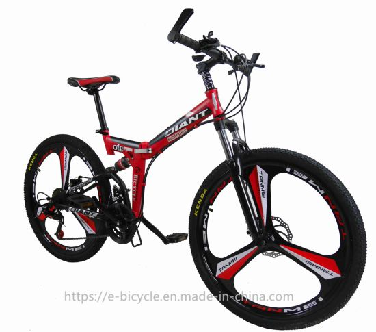 26 Inch Dual Full Suspension Mountain Bike with Disc Brake, Shimano Shifting Fol pictures & photos