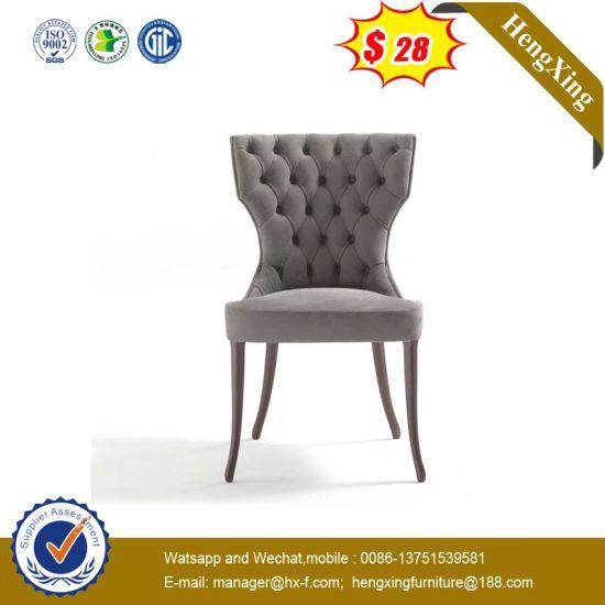 Metal Base Wooden Back Bar Stool Modern Chair (HX-9CN0289)