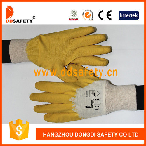 China Supplier Cotton Liner Latex for Coating Safety Gloves