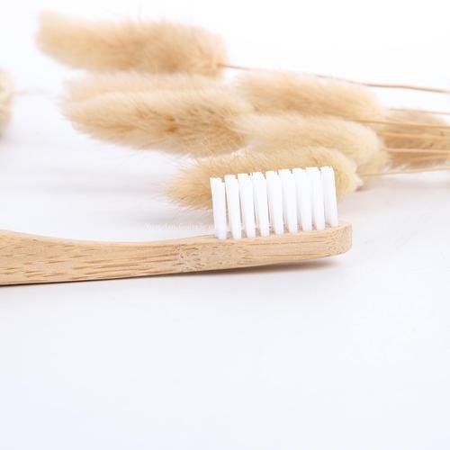 Nature Bamboo Custom Soft Household/Travel Toothbrush