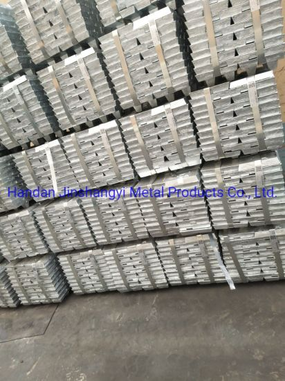 High Purity Primary Zinc Ingots 99.99%Ready for EXW pictures & photos