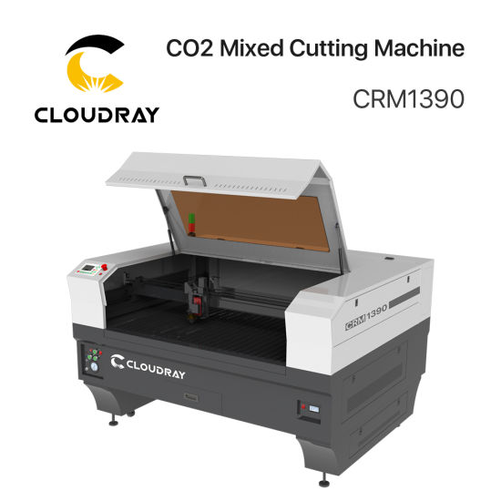 Cloudray CO2 Laser Cutting or Engraving Cutter Machine for MDF Plywood/Leather/Logo Printing/Wood Acrylic