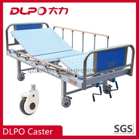 High Quality Hospital Bed Caster Castor Wheels with Brake