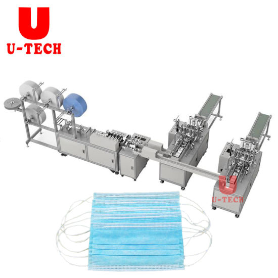 Factory Automatic Disposable Surgical Dust Face Mask Making Machine Europe