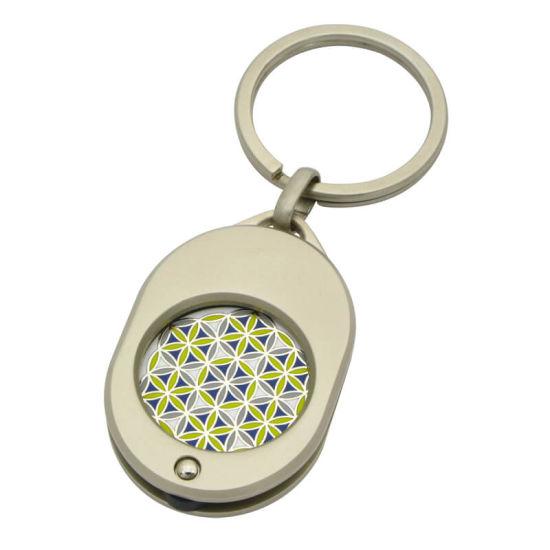 Wholesale Factory Logo Customized Shape Metal Keyring Key Holder