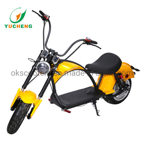 Chinese Cheap Classic Powerful Adult Size 60V 2000W Electric City Motorcycle with EEC