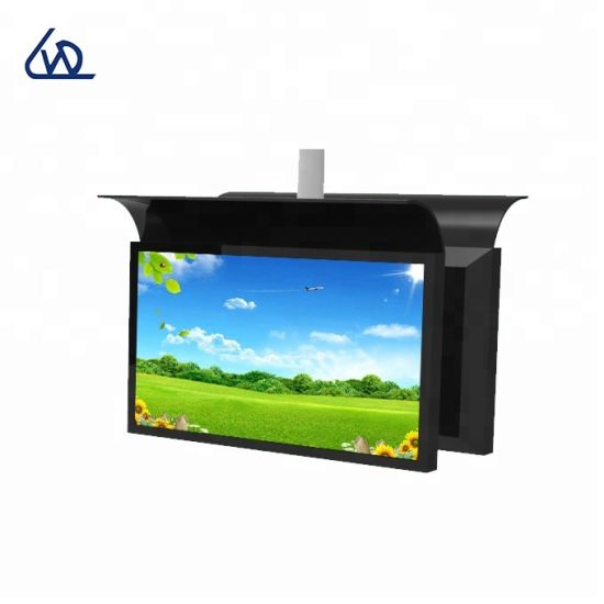 Semi-Outdoor 55 Inch Two Sided Ultra Slim 700 Nits LCD Display for Subway Station