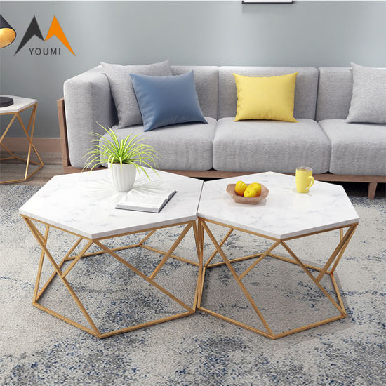 China Modern Design Wooden Round Coffee Table Set Low Price Center Tables China Coffee Table Side Table