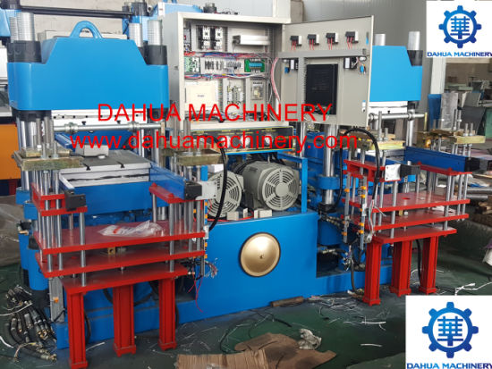 Full Automatic Platen Molding Press for Silicone & Rubber Seals Products Vulcanizing Press Machine