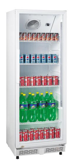 Upright Single Glass Door Beer Display Cooler Beverage Fridge (LG-230XP)