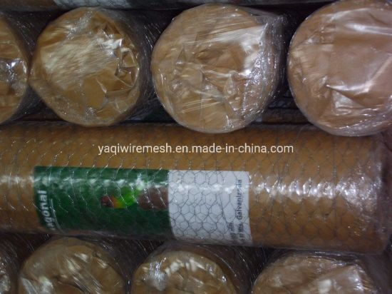 1/2 Inch PVC Coated Poultry Netting Hexagonal Wire Mesh Netting Fence