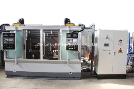 IGBT Induction Metal Heat Treatment Back Shaft Hardening Machine