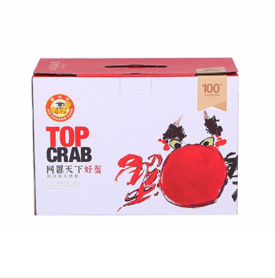 Corrugated Marine Food Product Packaging Paper Boxes Color Printing Boxes