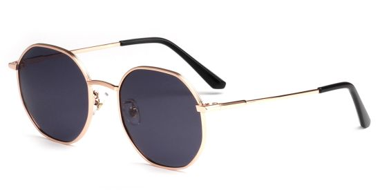 Round Red Polarized Sunglasses Lens, Yellow Tinted Glasses Night Vision Eyeglasses