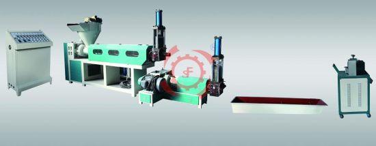 Waste PP PE Plastic Bag Film Granulator Double Screw Recycle Recycling Machine