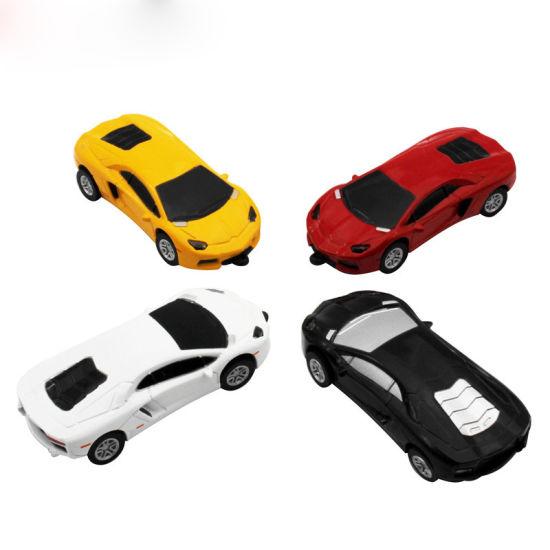 USB Flash Drive Orange Sports Car Model Thumb Drive Pendrive Memory Stick
