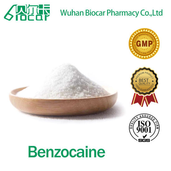 Factory Supply Benzocaine CAS 94-09-7 with Favorable Price