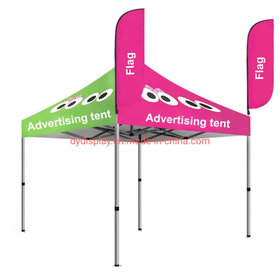 Custom Advertising Tent Aluminum Marquee with Feather Flag pictures & photos