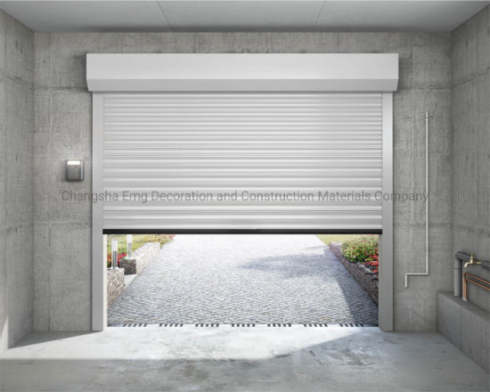 Electric Manual Remote Control Roller Shutter for Security