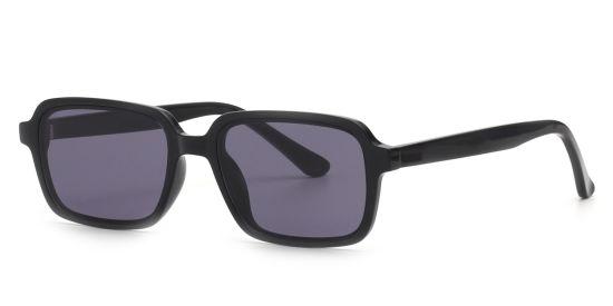 Rectangle Tortoise Shell Sunglasses, Small Eyewear Frame Unisex