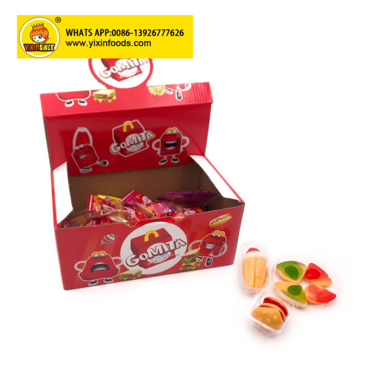4 in 1 Shaped Gummy Chewy Pizza Candy
