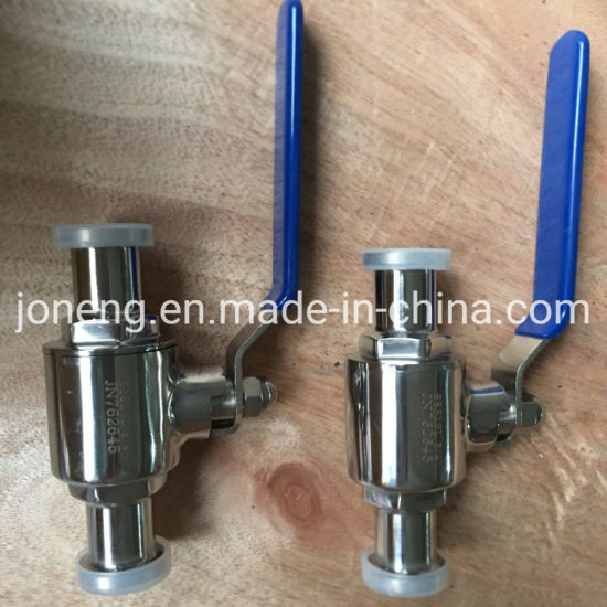 Stainless Steel 316L Straight Way Ball Valve