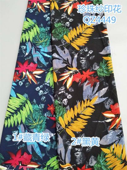 Chiffon Series14 Ladies Fashion Printed Dress Fabric