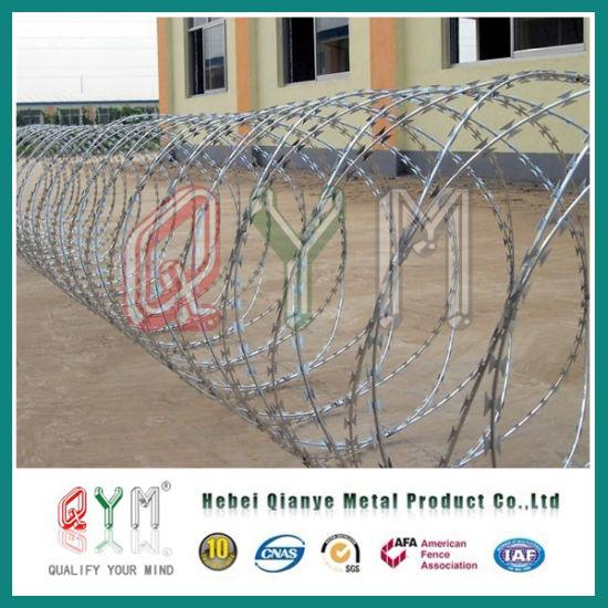 Bto-22 Military Concertina Razor Barbed Wire/ Razor Barbed Wire
