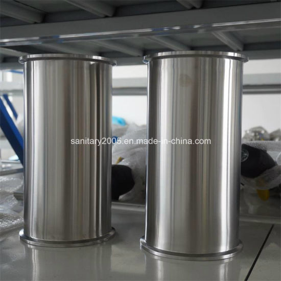 Stainless Steel Tri-Clamp Jacketed Spool for Extraction Equipment