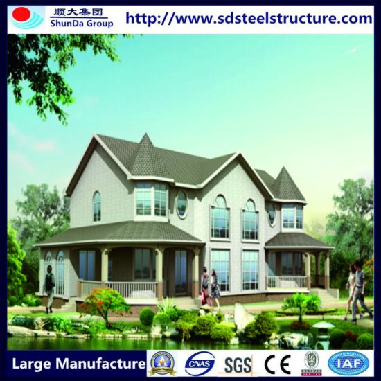 Fast Construction Prefabricated Luxury Prefab Steel Villa pictures & photos