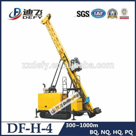 Diamond Prospecting Drill Rig Equipment with Full Hydraulic Drilling System