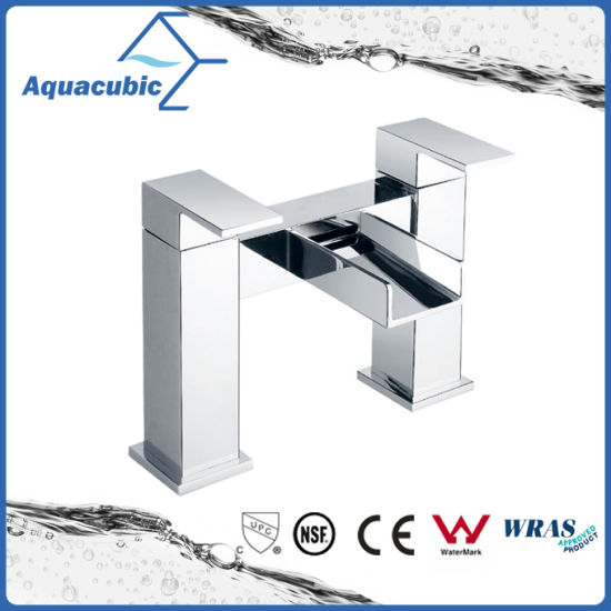 China UK Waterfall Double Handle Bathtub Faucet (AF6010-2) - China ...