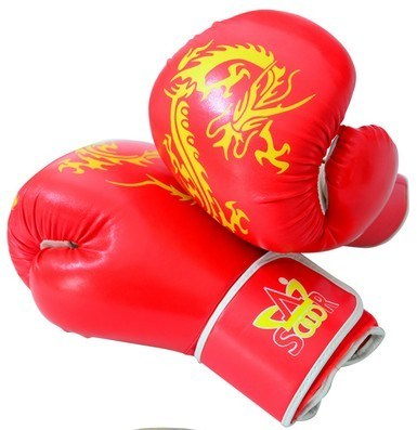 Best Selling Boxing Glove, Cowhide Leather Boxing Glove (LDXU-1302) pictures & photos